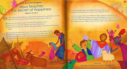 beatitudes children's story tutu