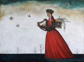 song of the harp, 92x122