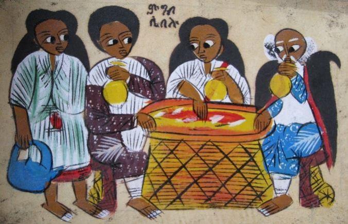 Ethiopian Abrahams Guests