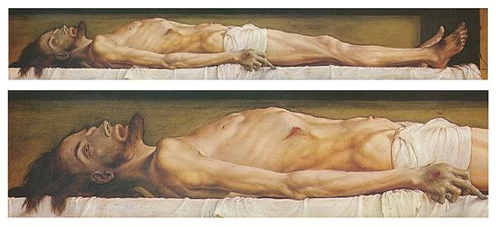The Body of the Dead Christ in the Tomb 1_Hans Holbien