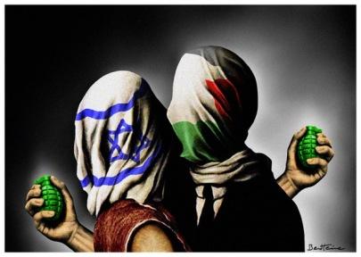 Israel-Palestine-Ben-Heine